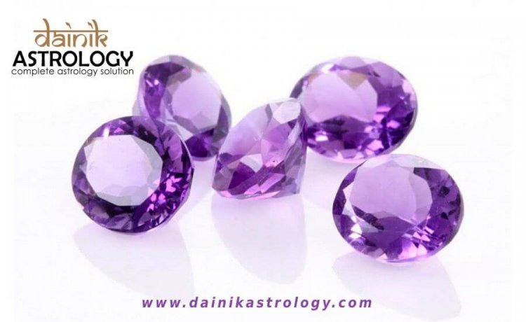 Lucky Gemstone of people born in February- Amethyst