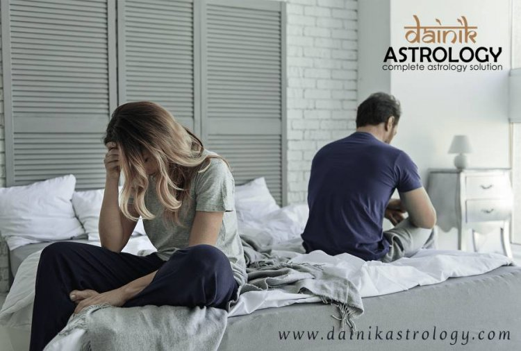 What are reasons for discord in married life according to astrology?