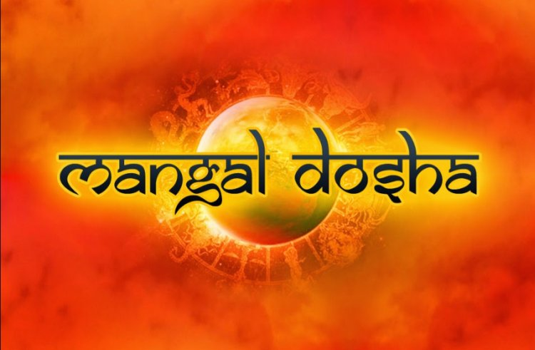 Why is Manglik Dosha formed from five places?