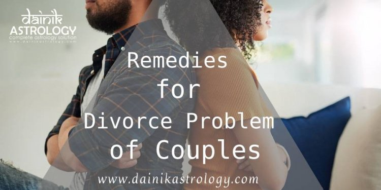Lal Kitab Remedies for Divorce Problem of Couples