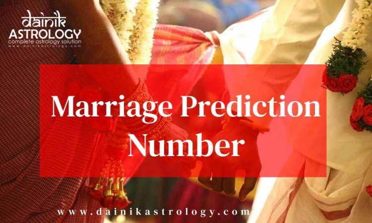 Know who will become your life partner from Marriage Prediction Number