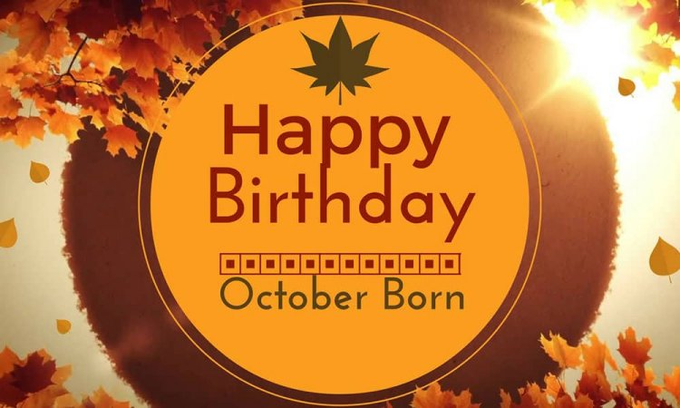 Personality Traits of People Born in October Month